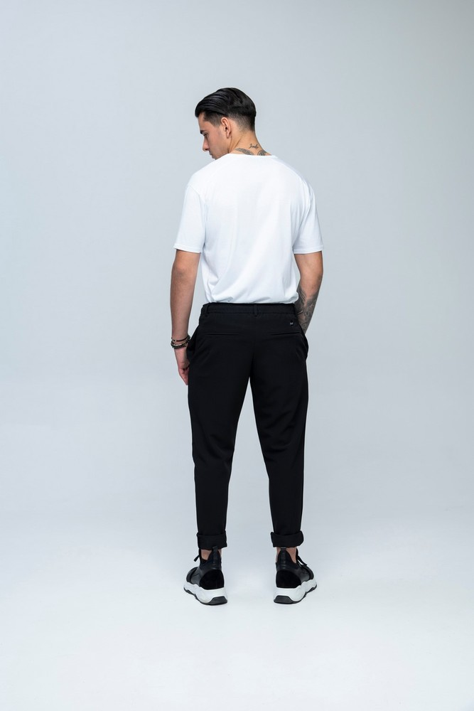 Laces Pants Black