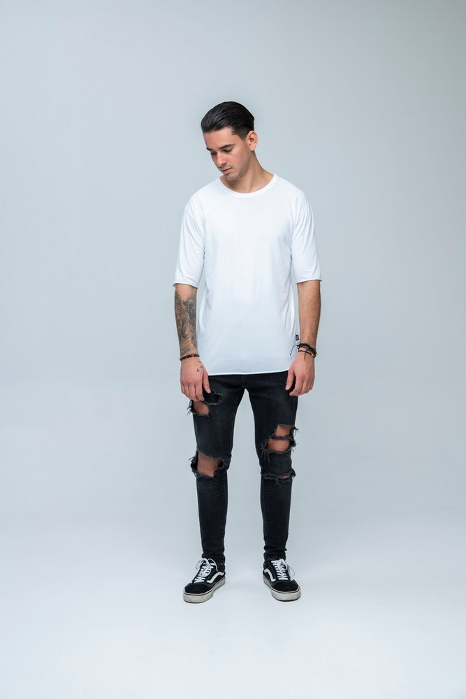 DON'T SS Carbon Tee White