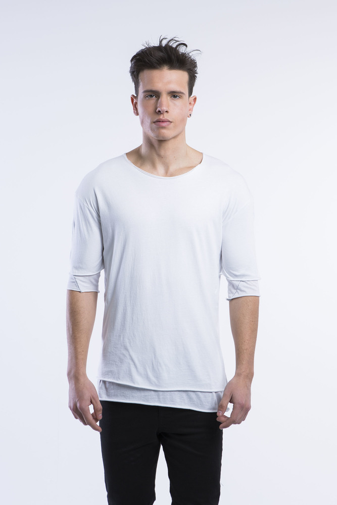 DOUBLE LAYER LIGHT TEE