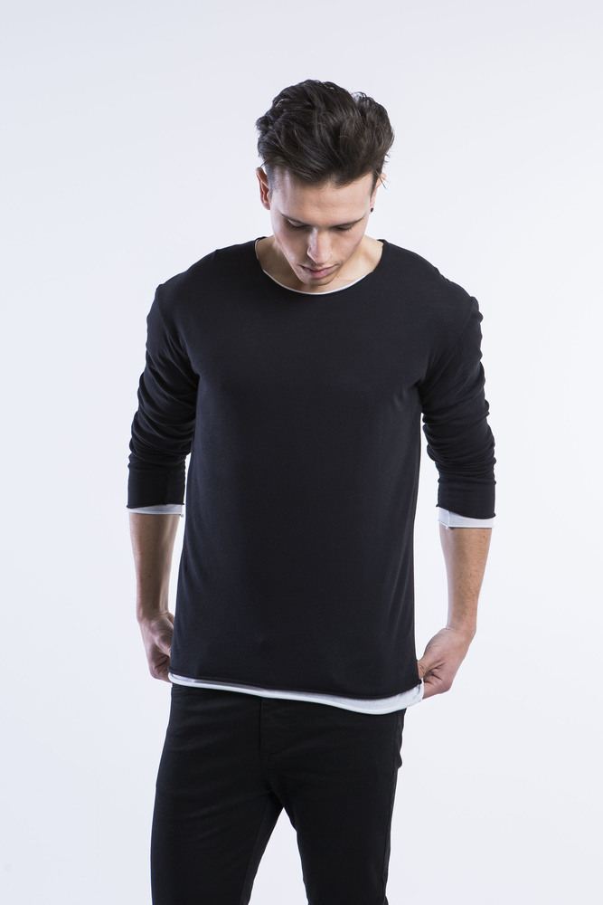 DOUBLE LAYER LIGHT LONGSLEEVE TEE