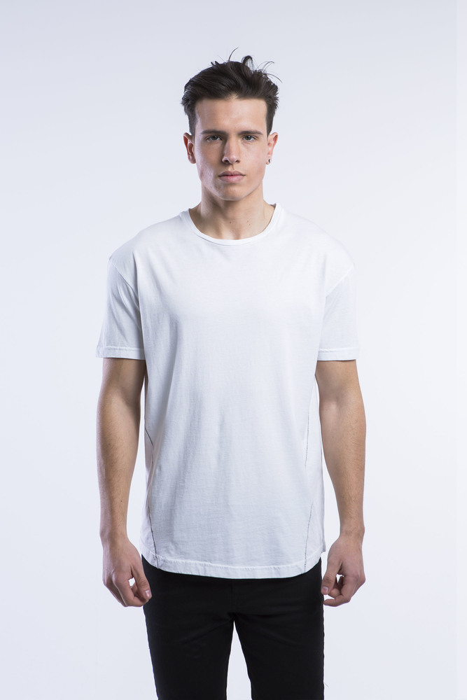 ALLOVER FISHLINE TEE
