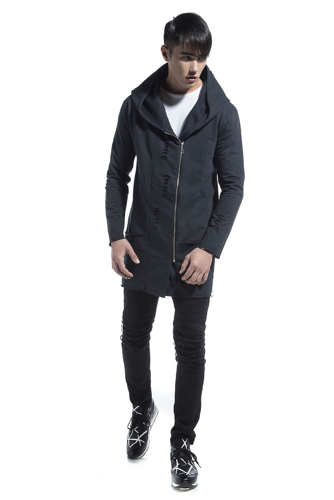 REAL CUT CARDIGAN ANTHRACITE