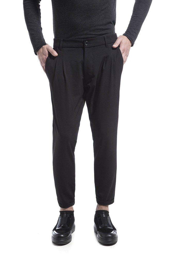 TAILORED PANTS CL BLACK