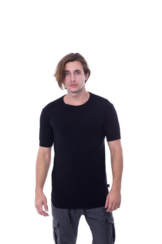 SLUB BASIC TEE BLACK