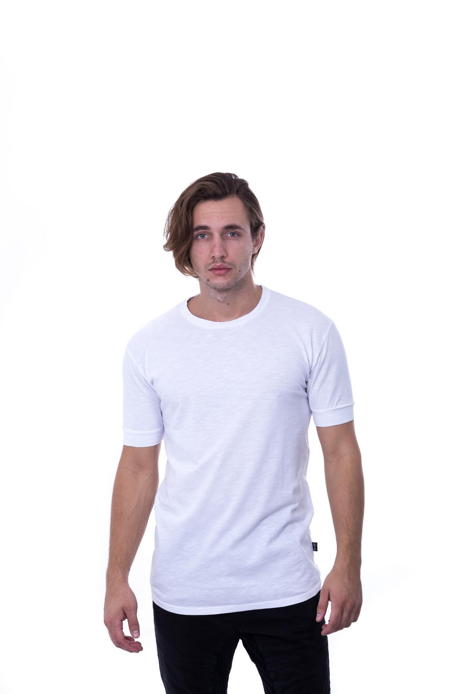 SLUB BASIC TEE WHITE