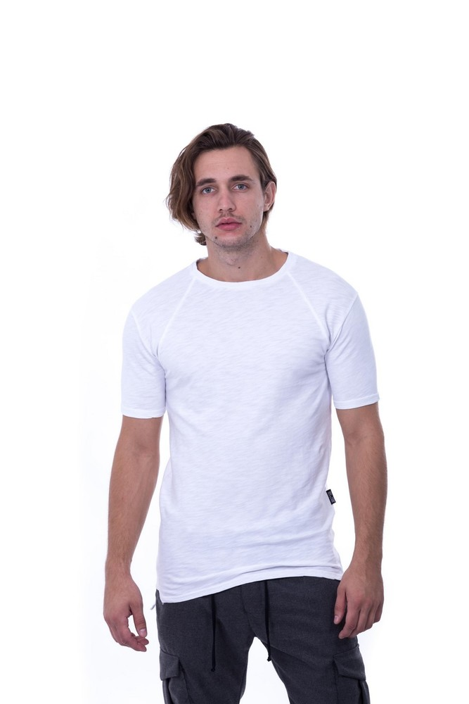 REGLAN SLUB SWEAT WHITE