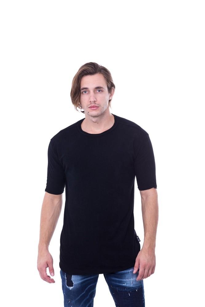 VISCOSE TOWEL TEE BLACK