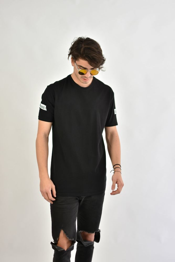 SINNER/SAINT PIKE TEE BLACK