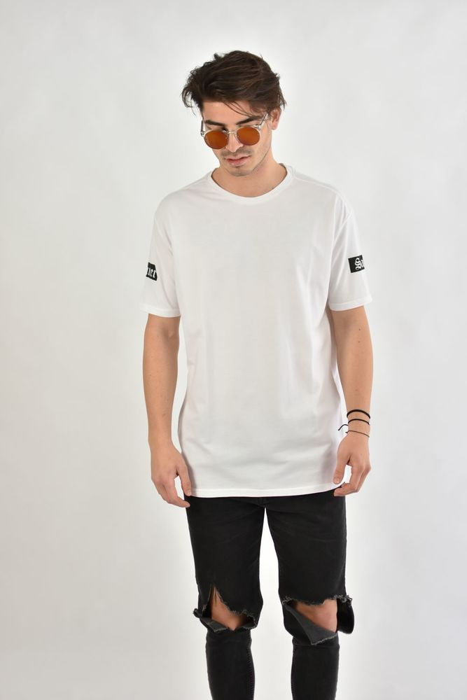SINNER/SAINT PIKE TEE WHITE