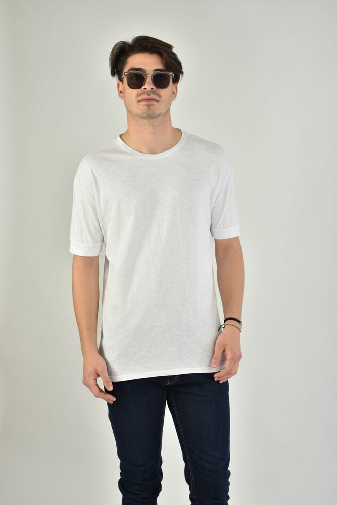 SLUB BASIC TEE WHITE