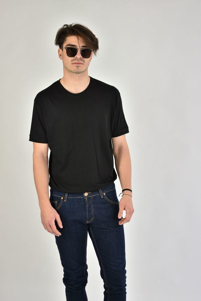 CREWNECK BASIC TEE BLACK