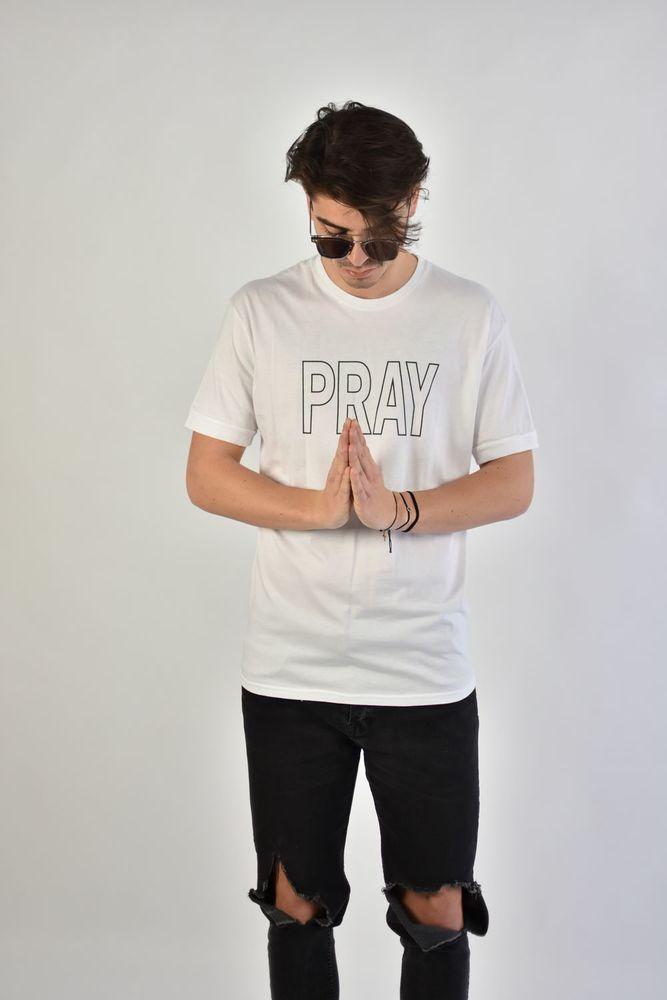 PRAY TEE WHITE