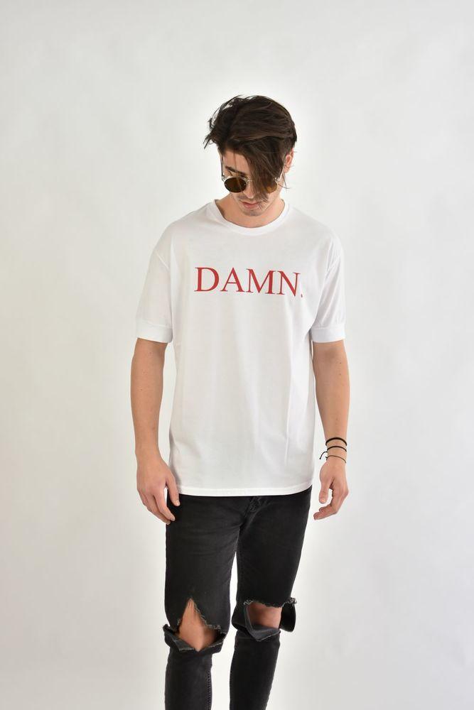 DAMN TEE WHITE