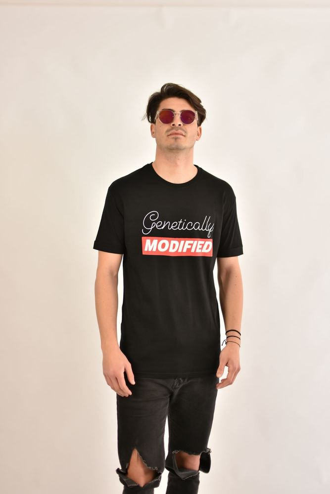 MODIFIED TEE BLACK