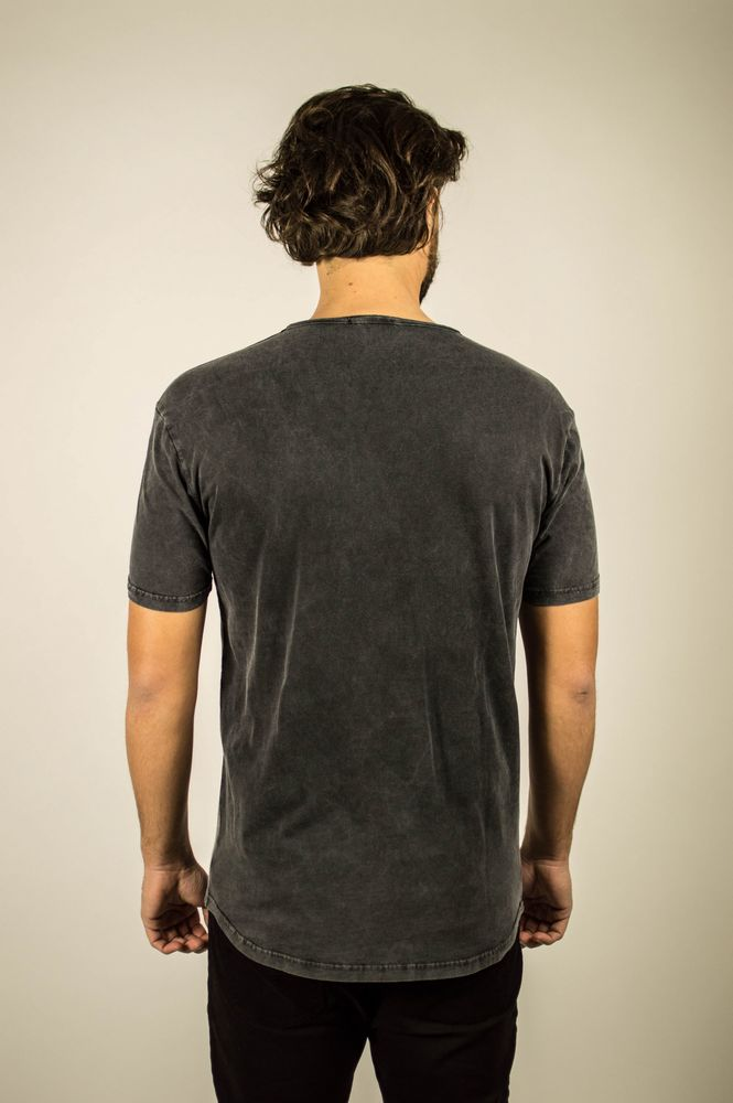 PERFORE LINE TEE CARBON