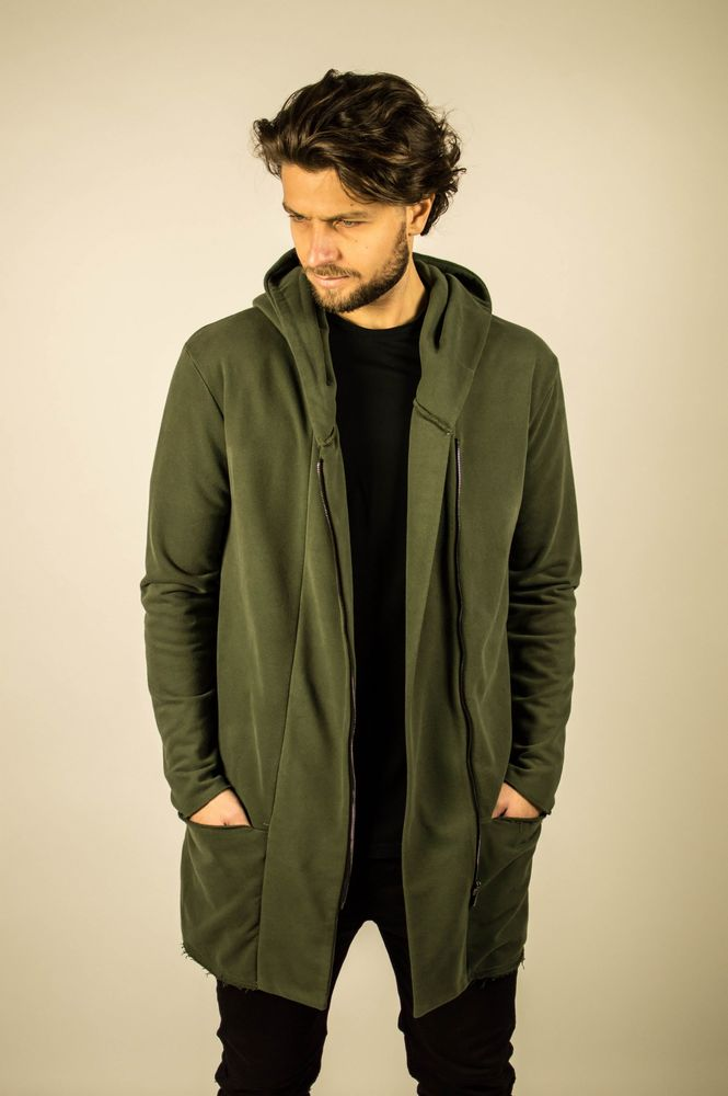 LONG CARDIGAN KHAKI